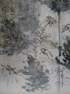 Drawing - Mandy Pattullo Body of Work-explore media and techniques Guache, Inspiration Art, A Level Art, Art Graphique, Mark Making, Drawing Techniques, Drawing Tips, Art Design, Botanical Art