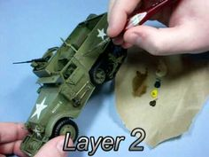 Simple Dust and Dried Mud effects - weathering for Tanks, AFV's and Softskins - YouTube
