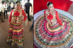 Stylish Outfits Every Plus Size Bride Can Steal From Comedy Queen Bharti Singh Womens Clothing Stores, Plus Size Womens Clothing, Clothes For Women, Urban Outfits, Stylish Outfits, Dress For Petite Women, Indian Bridal Fashion, Stylish Plus, Diy Dress