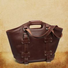 Leather Tote 'They'll fight over it when you're dead' #SBLTravelBag
