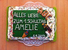 Tafel - Kuchen zur Einschulung / zum Schulanfang, ein sehr leckeres Rezept aus der Kategorie Kuchen. Bewertungen: 20. Durchschnitt: Ø 3,9.