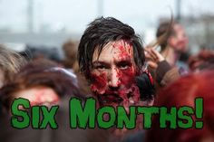How Long Would You Survive In A Zombie Apocalypse? Six months. Did not think I'd even get that far.: