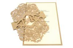 www.intricatecreations.co.uk Valentino Laser-Cut Invitation