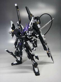 GUNDAM GUY: 1/100 Insane Black Rock Strike Gundam - Custom Build