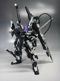 GUNDAM GUY: 1/100 Insane Black Rock Strike Gundam - Custom Build