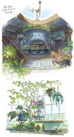 Disney Concept Art, Game Concept Art, Environment Concept Art, Environment Design, Fantasy World, Fantasy Art, Bg Design, Isometric Art, Fantasy Setting