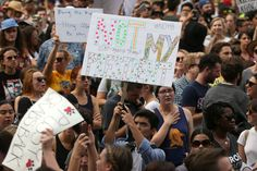 "By Alexander Besant and Olga Grigoryants  NEW YORK/LOS ANGELES (Reuters) - Chanting ""Not my president"" and ""love trumps hate,"" thousands of demonstrators took the streets in cities across the United States on Saturday to protest against President-elect Donald Trump, who they say threatens"
