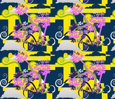 Japanesegarden11 fabric by designbyraly on Spoonflower - custom fabric