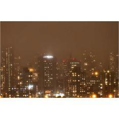 NYC as seen through fog. photo by Inga Sarda-Sorensen.
