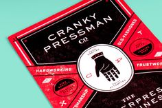 Cranky Pressman Promo : The Studio of Dan Blackman