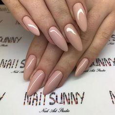 Nail Shapes - My Cool Nail Designs Classy Nails, Stylish Nails, Trendy Nails, Acrylic Nail Shapes, Acrylic Nail Designs, Acrylic Nails Almond Short, Gel Nails Shape, Crome Nails, Classy Nail Designs