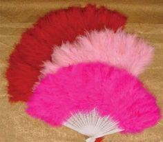 Burlesque Feather Fan