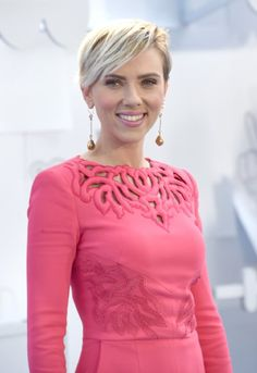 Scarlett Johansson at the MTV Movie Awards, April 12, 2015.