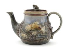 Royal Doulton Stoneware Teapot - weirdly charming while not exactly beautiful :)