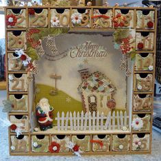 calender advent DIY craft project idea family kid fun tradition