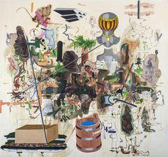 "<div class=""artist""><strong>Michael Bauer</strong></div><div class=""title""><em>Durango B.I.T.</em>, 2015</div><div class=""medium"">Oil on canvas</div><div class=""dimensions"">228.6 x 247 cm<br>90 x 97 1/4 ins</div>"