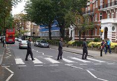 38: Un simple paso de peatones: Abbey Road.