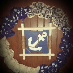 Anchor of life wreath