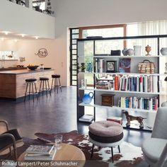 essbereich mit schiebegardinen als raumtrenner haus and. Black Bedroom Furniture Sets. Home Design Ideas