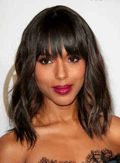 Awesome 1000 Images About Celebrity Bangs On Pinterest Celebrity Hairstyles For Women Draintrainus