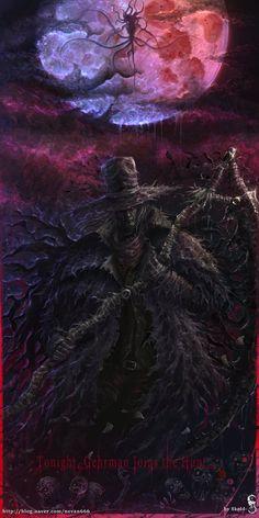 Gehrman the First Hunter,BB персонажи,BloodBorne,Dark Souls,фэндомы Dark Blood, Old Blood, Gothic Horror, Horror Art, Dark Fantasy Art, Dark Art, Bloodborne Art, Soul Game, Dark Souls Art