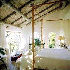 carribean style bedroom interior design