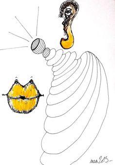 Pop Art Street Brut Singulier Dessin Original Nea Borgel Abstrait Deviant Art