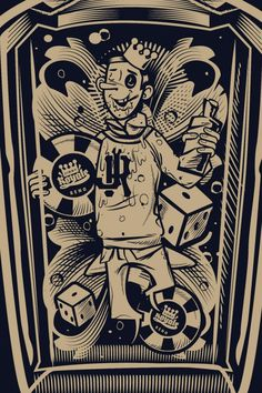 Tshirt illustration for Jimmy Royale