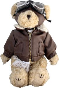 "Too Cute!!!! Fallon Aviation - 10"" Stuffed Pilot Bear, $14.75 (http://www.fallonaviation.com/10-stuffed-pilot-bear/)"
