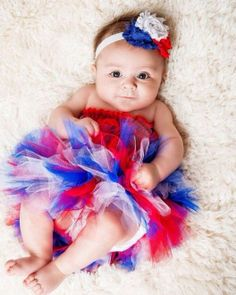 Red white and blue TUTU 4th Fourth of July by Itzybitzybeauty, $6.00