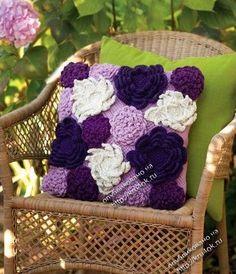Almofada e Uma Flor Linda - Receitas compartilhadas!