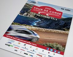 """portfolio: """"Visuels officiels Tour de Corse WRC 2015"""" http://on.be.net/1L5RfwF"""