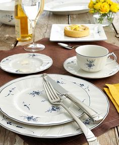 """Villeroy & Boch """"Vieux Luxembourg"""" Dinnerware Collection"""