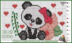 Panda Ponto Cruz