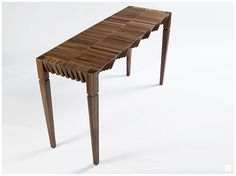 Cortina Table by Sebastián Lara