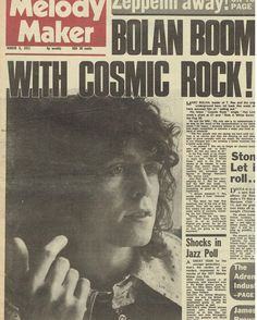 A Marc In Time...March 6th 1971 Melody Maker Cover
