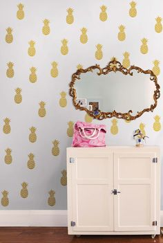 Pineapple Wall Decal