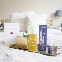 It's here! #February's @beautyheroes box revealed. I cant say enough good things about the @osmiaorganics line in general. Ive known founder Sarah for nearly as long as Ive been working in the green beauty industry and shes a powerhouse of a person: so down to earth yet crazy brilliant generous beyond belief and a genius at creating products that work. One of my favorite things about Osmia is the scents. Sarah has an incredible nose and her scent blends are so beautifully complex and…