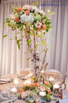 25 Stunning Centerpieces - Part 2 - Belle the Magazine . The Wedding Blog For The Sophisticated Bride