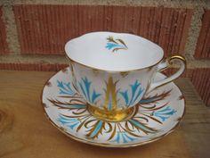 Vintage Royal Chelsea Bone China Tea Cup Saucer Set England   eBay