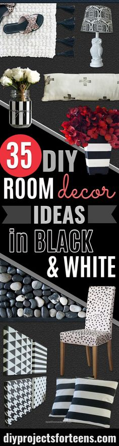Home Design Ideas: Home Decorating Ideas For Cheap Home Decorating Ideas For Cheap Magnificent DIY Room Decor Ideas in Black and White – Creative Home Decor and ...