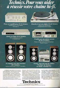 Technics SL-Q2 Publicité advertising 1980 Chaine Hi-fi Platine Technics | Collections, Objets publicitaires, Publicités papier | eBay!