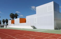 Multifunctional Building in Municipal Sports Facilities - Explore, Collect and Source architecture