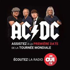 Partez voir AC/DC aux Pays-Bas en exclusivité avec OÜI FM