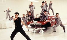 John Travolta in Grease. Grease 1978, Grease Movie, Film Pictures, Film Images, Grease Characters, Grease John Travolta, Grease Is The Word, Dance Movies, Olivia Newton John