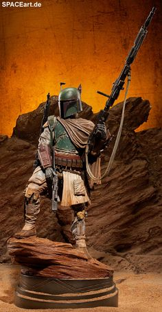 Star Wars: Boba Fett - Myth Deluxe Statue, Finished model (Figure 2)