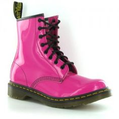 Doc martens, hot pink...got them for valentines day:)