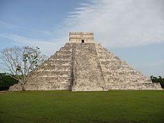 Kukulcan, Tempel Chichén Itzá, Mexico 1999?  world wonder...