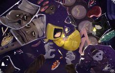 Little Nightmares The Fallen Journey by mango093