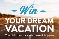 Enter to Win a $2,750 Travel Giveaway! #sweepstakes
